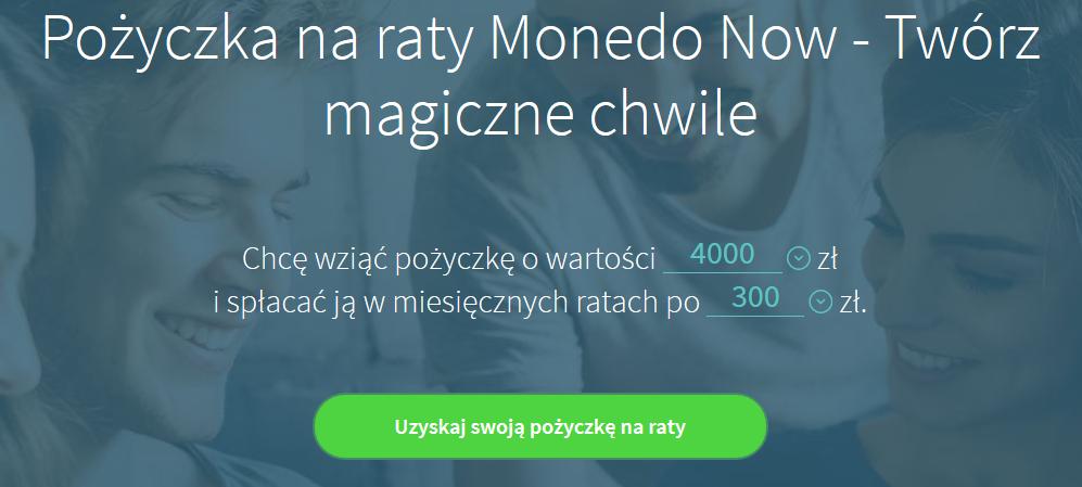 monedo now pożyczka